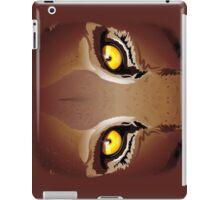 Wild Puma Eyes iPad Case/Skin