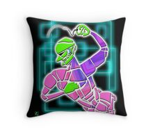 Figure with Beads Throw Pillow