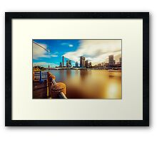 Silk River... Framed Print