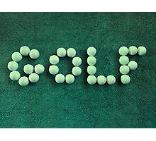 Golf Balls #2 Photographic Print