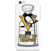 2016 Pittsburgh Penguins Stanley Cup Champions iPhone Case/Skin
