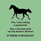 Horse People Humor T-Shirts and Hoodies by Patricia Barmatz