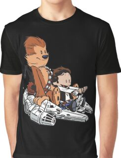 Chewie And Han Graphic T-Shirt
