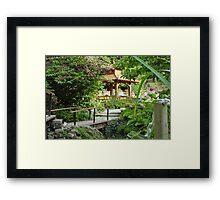 Japanese Tea Garden Framed Print