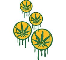 Cool Weed Stempel Muster by Style-O-Mat