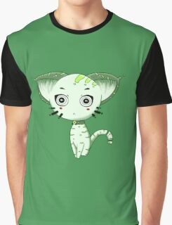 Ufo Cat by Lolita Tequila Graphic T-Shirt