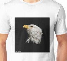Bald Eagle Looking Skyward Unisex T-Shirt