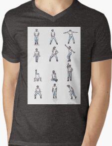 Napoleon Dance Mens V-Neck T-Shirt