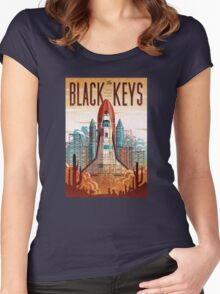 Black Keys Women's Fitted Scoop T-Shirt