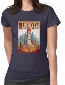 Black Keys Womens Fitted T-Shirt