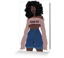 Poppin Bish Greeting Card