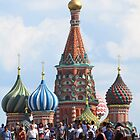 Saint Basil's Cathedral - Red Square - Moscow by M-EK