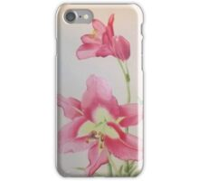 Pink Lilly iPhone Case/Skin