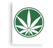 Cool Weed Logo Canvas Print