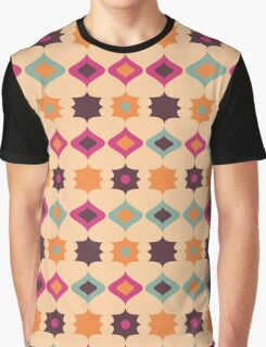 Seamless retro pattern geometrical vector texture Graphic T-Shirt