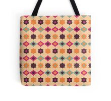 Seamless retro pattern geometrical vector texture Tote Bag