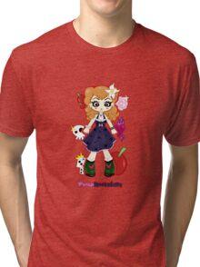 Pinup Rockabilly by Lolita Tequila Tri-blend T-Shirt