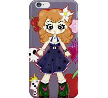 Pinup Rockabilly by Lolita Tequila iPhone Case/Skin
