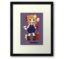 Pinup Rockabilly by Lolita Tequila Framed Print