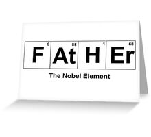 Father Element Greeting Card