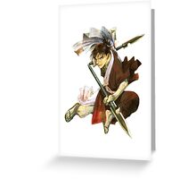 Blade of the Immortal #01 Greeting Card