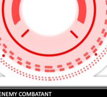 Person of Interest - Samaritan - Enemy Combatant   Sticker