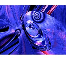Arctic Chill Abstract Photographic Print