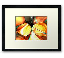 Stellar Forces Abstract Framed Print