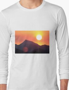 The Smoke from a Distant Fire Long Sleeve T-Shirt