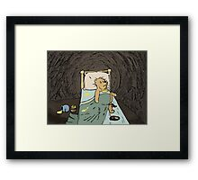Pooh the Glutton Framed Print