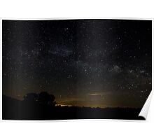 Night Sky in Illinois Poster