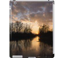 Winter Sunset - Lake Ontario, Toronto, Canada iPad Case/Skin