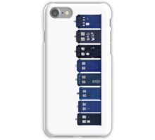 TARDIS Lineup iPhone Case/Skin