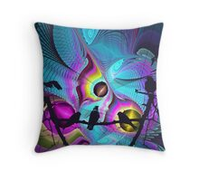 Birds Kingdom Pillow Throw Pillow
