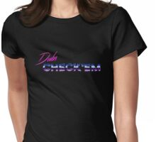 Dubs Check 'Em Womens Fitted T-Shirt