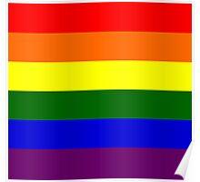 Gay pride Flag Poster