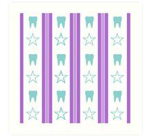 Teeth And Stars Art Print