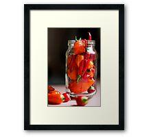 Chili Jar (2) Framed Print