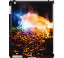 Smoke Backlit by Fire iPad Case/Skin