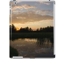 Hot Summer Sunset at the Farm iPad Case/Skin
