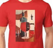 A Fine Red Oil Painting Unisex T-Shirt