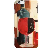 A Fine Red Oil Painting iPhone Case/Skin