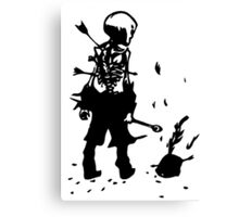 The Black Parade Canvas Print