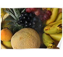 Fresh Fruit Basket Poster
