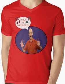 Colin The Musical Mime Mens V-Neck T-Shirt