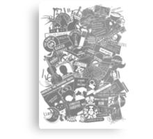 Ultimate Sherlock - Black and White Edition Metal Print