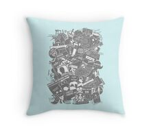 Ultimate Sherlock - Black and White Edition Throw Pillow