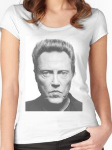 Christopher Walken Women's Fitted Scoop T-Shirt