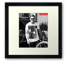 Ryan Gosling, Macaulay Culkin Inception Shirt Framed Print