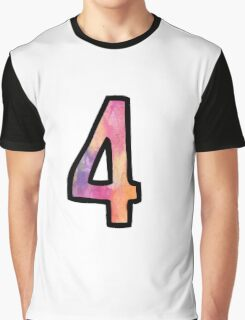 Number 4 Graphic T-Shirt